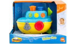 Іграшка для ванної Кораблик WinFun 7106-NL 12m+