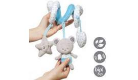 Іграшка-спіраль BabyOno Ведмедик Тоні (1234) 0m+
