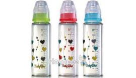 Скляна антіколіковая пляшечка Baby Ono 240 мл 0+