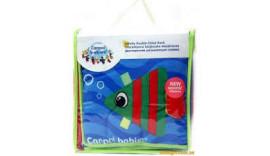 Іграшка-Книжечка Canpol babies розвиваюча двостороння Кольоровий океан (68/031)
