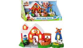 Hap-p-kid - Розвиваючий набір Ферма з тваринами 3882T 18m+