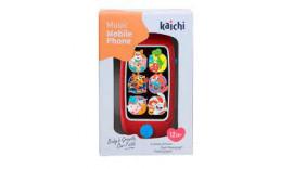 Іграшковий телефон Kaichi 2в1 K999-149B 12m+