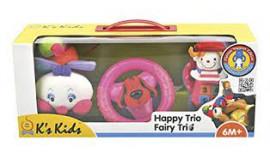 Happy Trio Rosa Ks Kids 0-36m+