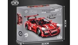 LEPIN 0015 Porsche 911 Super Car Red 1/10 2718 pcs 6+