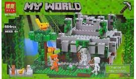 Конструктор Майнкрафт Bela 10623 Minecraft Храм в джунглях 604 деталей Аналог LEGO 21132 6+