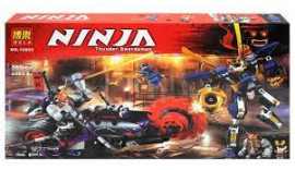 """Конструктор Bela """"Ninja"""" (10805) Кіллоу проти Самурая Ікс, 565 деталей - Аналог Ніндзяго 70642"""