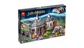 Конструктор Гарри Поттер Lari 11343 Хижина Хагрида спасение Клювокрыла аналог Lego 75947 520 дет 6+