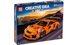 Конструктор Mould King 13129 ТЕХНІК - Porsche GT3 (1 072 дет.) 8+