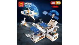 Космічна станція Wange (LEGO) 4850 412 pcs 6+