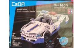 """Конструктор CaDa C51006W радіокерований Technic """"Поліцейська машина з акумулятором, 430 дет 6+"""