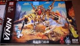 Конструктор PRCK Ninjago Золоті обладунки 318 дет 6+ 61032