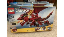Конструктор LEGO Creator Вогняна легенда (6751) 7-12+
