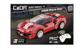 """Конструктор радіо CaDa Technic C51072W """"Ferrari 488"""" з акумулятором 306 дет 6+"""