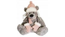 Ведмедик BEPPE Bear Niels у рожевій шапці 12464 32 см