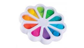 Pop It райдужний сенсорна іграшка поп іт антистрес, поп-іт, pop it fidget, сімпл-димл, Simpl Dimpl