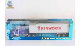 Трейлер металевий Kenworth W900 Welly (32663W) 1/32 8+