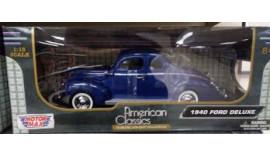 Машина Motor max 1/18 79000 AC 1940 Ford Deluxe Custom Classics 8+