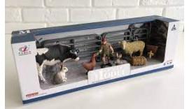 """Великий ігровий набір """"Тварини для ферми"""" Series Model Q 9899-U4-3"""