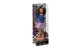 """Лялька """"Модниця"""" Спідниця в клітку Barbie (DFT85 / CFG17) Mattel 3+"""