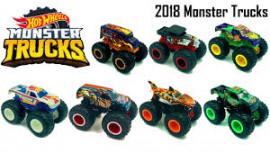 Машинка Hot Wheels Monster Jam 1:64  3+