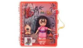 Лялька Mulan Mini Doll Playset Disney 3+