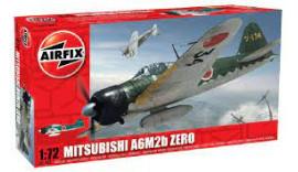Літак  A6M2b 'Zero',1/72 Airfix A01005