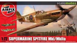 Літак Supermarine Spitfire Mk.Ia, Airfix 1/72 A01071A