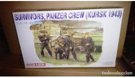 Німецькі танкісти 1/35 Survivors, Panzer Crew (Курск, 1943) 6129 Dragon II WW