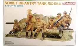 Солдатики Soviet Infantry Tank Riders 1/35 6197 Dragon II WW