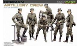 Солдати German Artilleri Crew 1939-45 1/35 6201 Dragon II WW