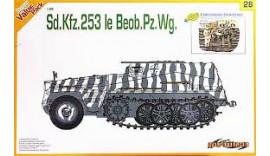 Самоходка Sd.Kfz.253 le Beob. Pz.Wg. + Набор фигурок Commander Conference 1/35 9128 Dragon
