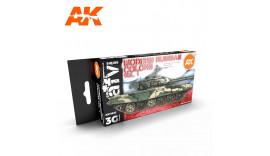 Фарби акрілові АРТ: AK11662 СУЧАСНІ РОСІЙСЬКІ КОЛЬОРИ
