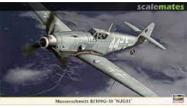 Літак Мессершмитт Bf-109G-10 NJG 11 1/48 09971