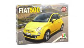 Автомобіль FIAT 500 (2007) 1/24 Italeri 3647