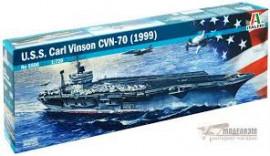 Авіаносець USS CARL VINSON CVN-70 (1999Г). 1/720. ITALERI 5522