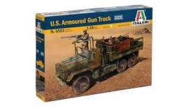 Вантажівка U. S. ARMOURED GUN TRUCK.1/35 ITALERI 6503