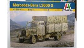 Автомобіль Mercedes-Benz L3000 S ITALERI 6558 1/35