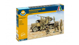 Автогармата AUTOCANNONE 3RO with 90/53 AA GUN - FAST ASSEMBLY 1/72 7508