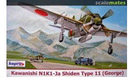Літак Kawanishi N1K1-Ja Shiden Type 11 (George) 1/72 №74149 Kopro