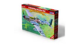 Літак MisterCraft Истребитель P-51D-25 Big Beautiful Doll D270 1/72