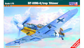 "Літак BF-109G4/trop ""Shiess"" 1/72 C88 MisterCraft"
