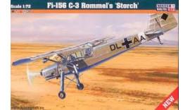 """Літак Fi-156 C-3 Rommel""""s """"Storch"""" D204 1/72 Mister kraft"""