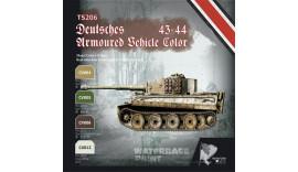 Фарби акрілові 18 мл. ІІ світова 19443-44 німецька техніка набір