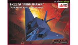 """Літак F-117A """"Nighthawk"""" 1/72 00141 Aero"""
