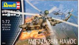 Вертоліт Mil MI-28N HAVOC 1/72