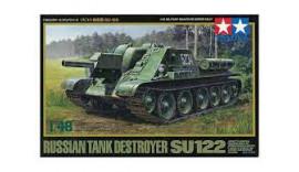 Сборная модель танка1/48 Russian Tank Destroyer SU122 Tamiya 32540