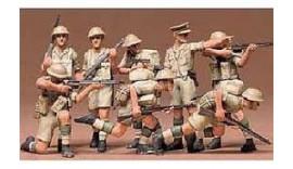 Англійські піхотинці, Африканський корпус. 8 фігур 1/35 35032 TAMIYA
