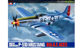 P-51D MUSTANG 8th A.F. ACES 1/48