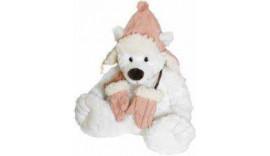 Ведмедик BEPPE Bear Niels у рожевій шапці 12465 20 см