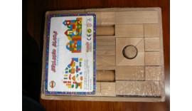 Кубіки букові 36 єл.не фарбовані 18м+
